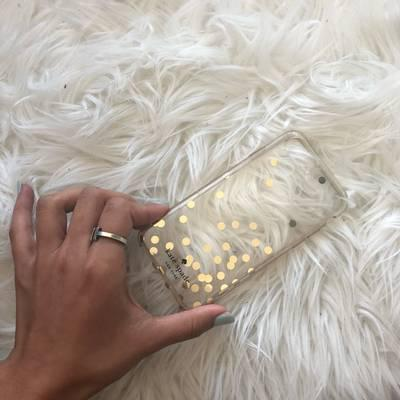 3d0b3e95054 Kate Spade iPhone 7/8 Phone Case!
