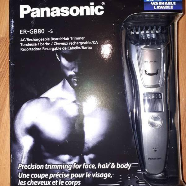 Panasonic, 3 In 1 Hair Clipper Set New In Box for Trade