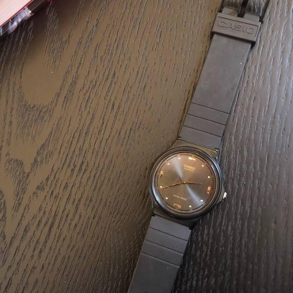 Trade Women's Casio Watch With Gold Hands in Toronto