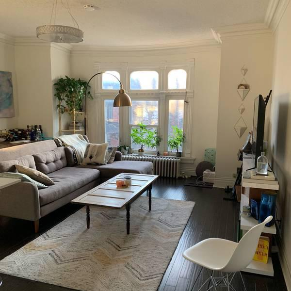 Tremendous Trade Sublet 1 Furnished Brm In 2Brm Annex Apartment In Interior Design Ideas Gentotthenellocom