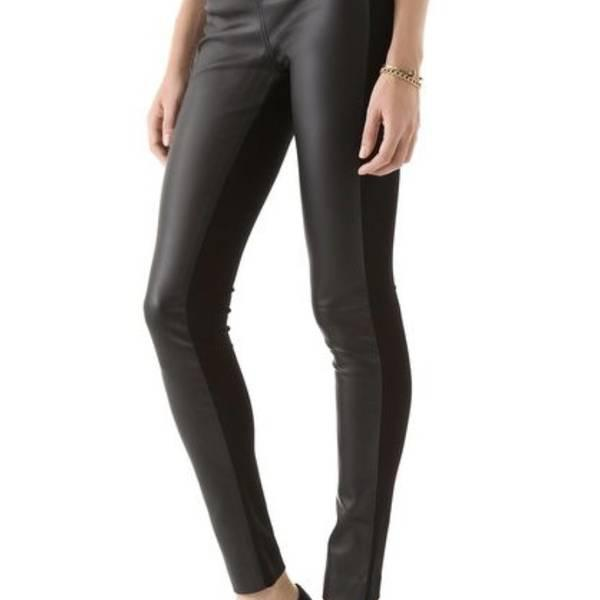 c8b24f76a51464 Club Monaco Faux Leather Tasha Leggings Size 0 for Trade ...